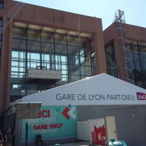 Les départs des trains Lyon Part Dieu