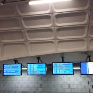 Les départs des trains Lyon