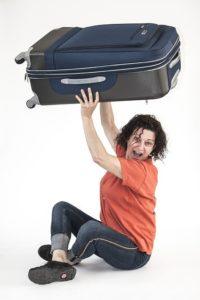 Portage valise en gare
